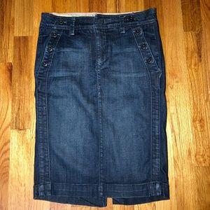 Level 99 Denim pencil skirt- Women's size